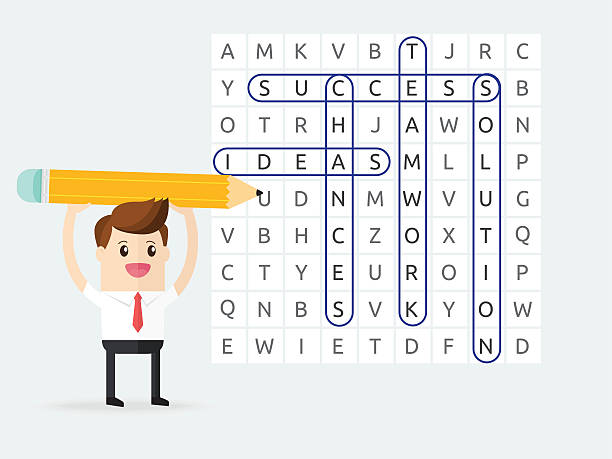 Best Word Game Illustrations, Royalty-Free Vector Graphics & Clip