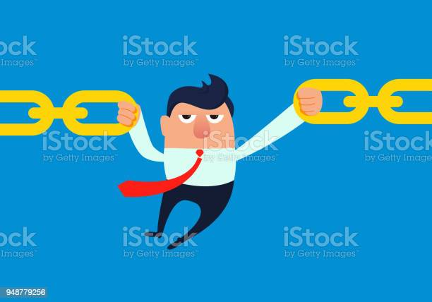 Businessman pulls broken chain by hand vector id948779256?b=1&k=6&m=948779256&s=612x612&h=zgrvjli nvqkhuk8vsoxrjgkbhvcnmp3exsfrquumkc=