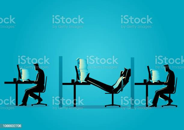 Businessman relaxing while his friends working vector id1066632706?b=1&k=6&m=1066632706&s=612x612&h=mcv lfycjuud0mpbo8mqd4rtyqq4d sa yw2z9bbiiy=