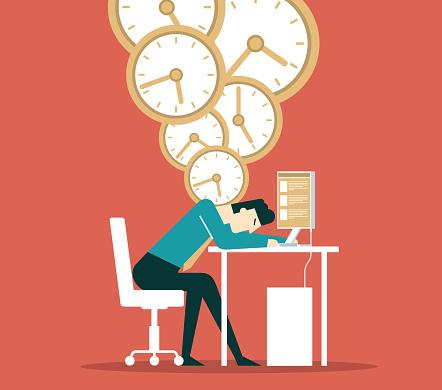 Businessman - Time pressure