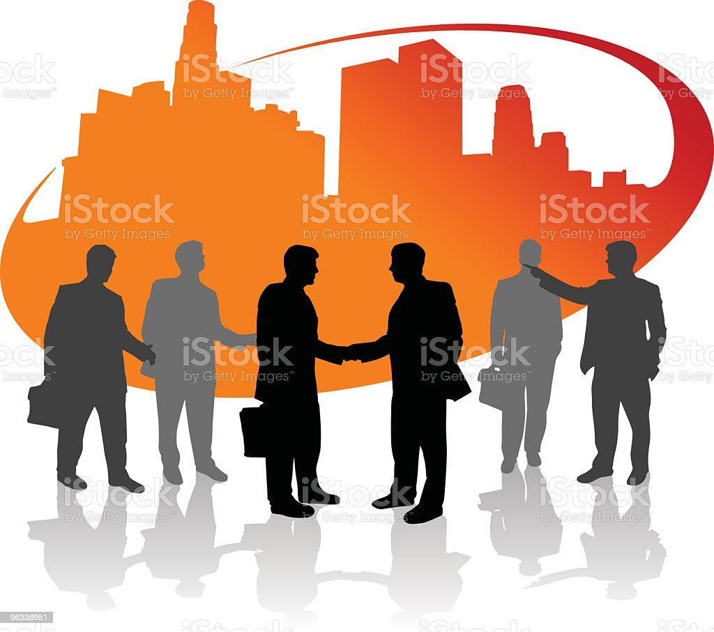 Businessman Urban royalty-free businessman urban stock vector art & more images of agreement
