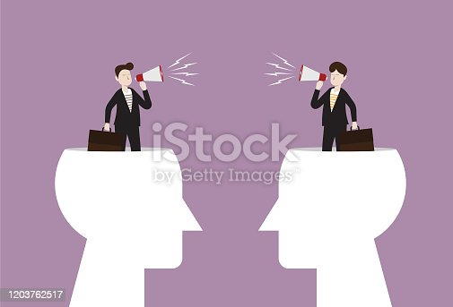 Fighting, Debate, Megaphone, Talk, Sharing, Loud