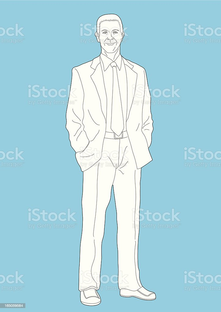 Businessman royalty-free stock vector art