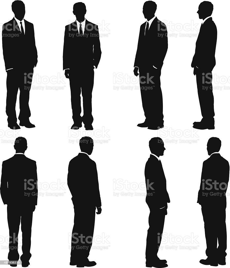Homme d'affaires - Illustration vectorielle