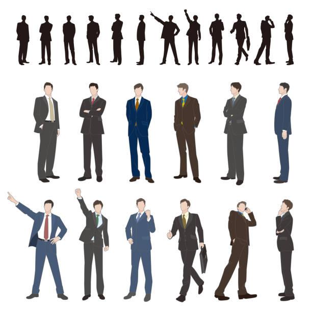 ilustrações, clipart, desenhos animados e ícones de empresário - business man