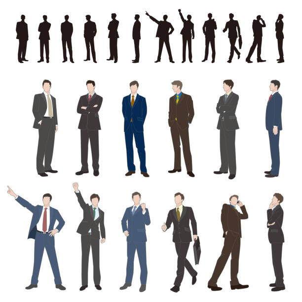 illustrazioni stock, clip art, cartoni animati e icone di tendenza di businessman - business man