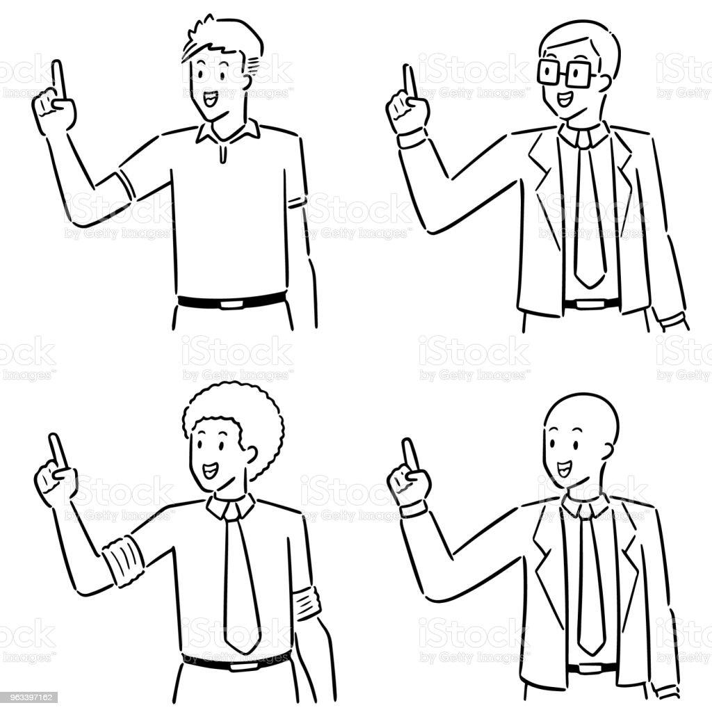 businessman - Grafika wektorowa royalty-free (Bazgroły - Rysunek)