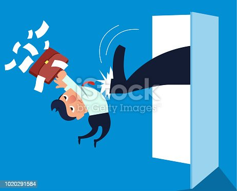 istock Businessman was taken out 1020291584