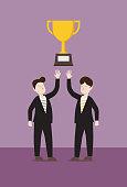 Success, Winning, Celebration, Trophy - Award, Achievement, Number 1, Symbol