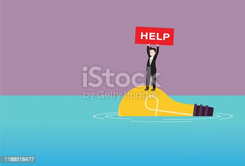 Concepts, Help Wanted Sign, Message, A Helping Hand, Innovation, Ideas
