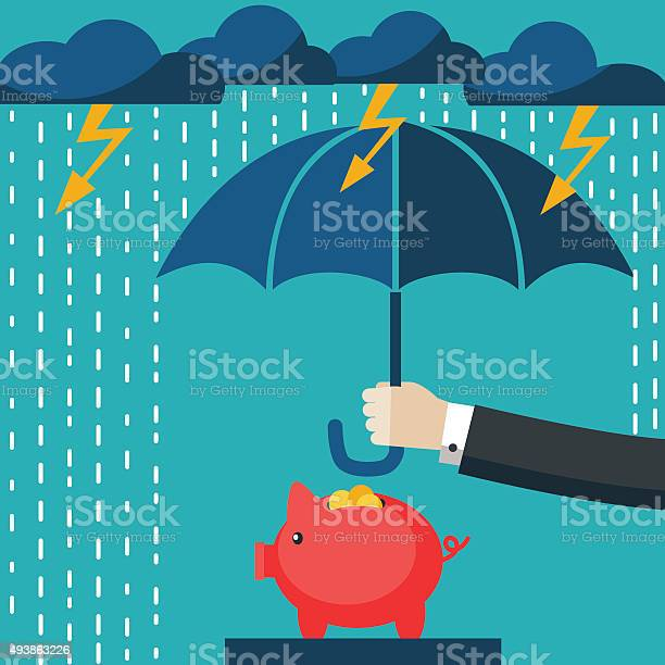 Businessman with umbrella protecting his piggy bank saving money vector id493863226?b=1&k=6&m=493863226&s=612x612&h=okoklki18n1hqk0cljl2ehw amqebnpkythk3dqe4r8=