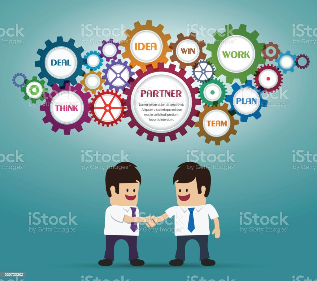 Businessmans deal and handshake royalty-free businessmans deal and handshake stock vector art & more images of adult