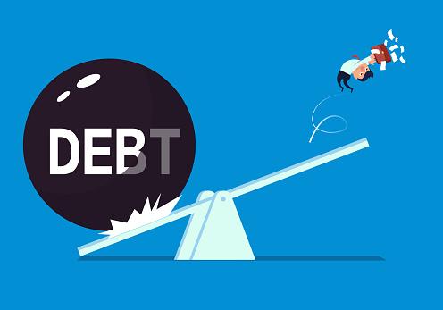 Businessman's huge debt