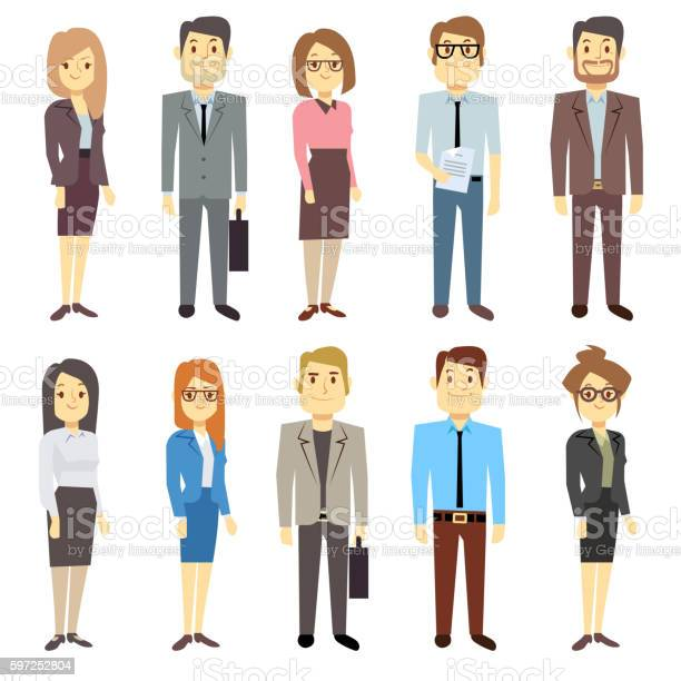 Businessmen businesswomen employee vector people characters various vector id597252804?b=1&k=6&m=597252804&s=612x612&h=hhf55l4 eqjmhza7k8hwuadg4azlwcldjbytfxehv2i=