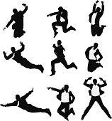 Businessmen jumping in excitementhttp://www.twodozendesign.info/i/1.png