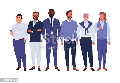 istock Businessmen team. 1185646498