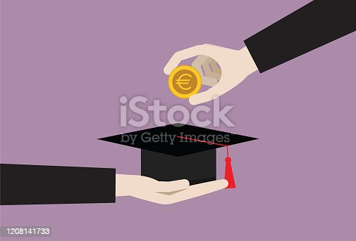 Finance, Student, University, Education, Scholarship, Currency, Fee, Saving, Coin, European currency