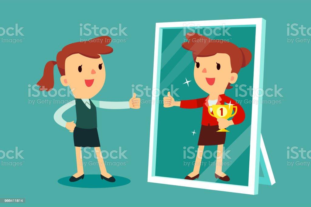 Mirror Reflection Clip Art