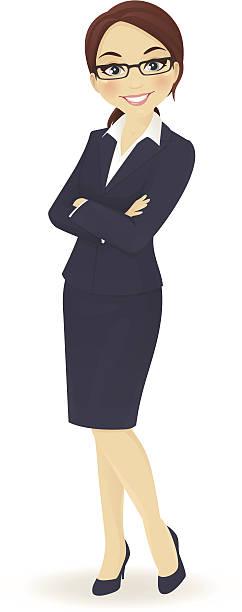 geschäftsfrau - elegante kleidung stock-grafiken, -clipart, -cartoons und -symbole