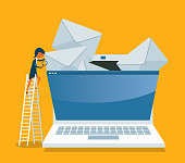 istock YOU'VE GOT MAIL - Businesswoman 1339936533