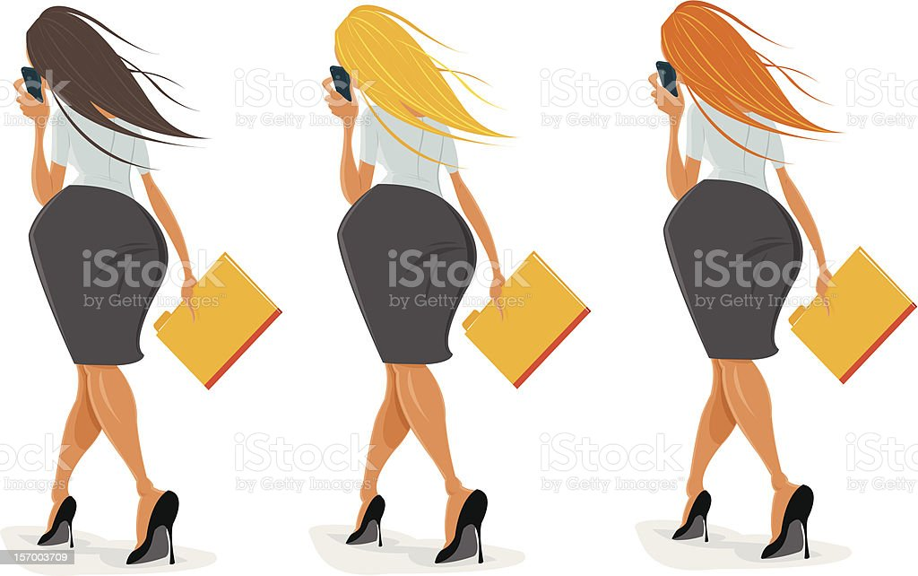 Businesswomen on phone royalty-free businesswomen on phone stock vector art & more images of adult