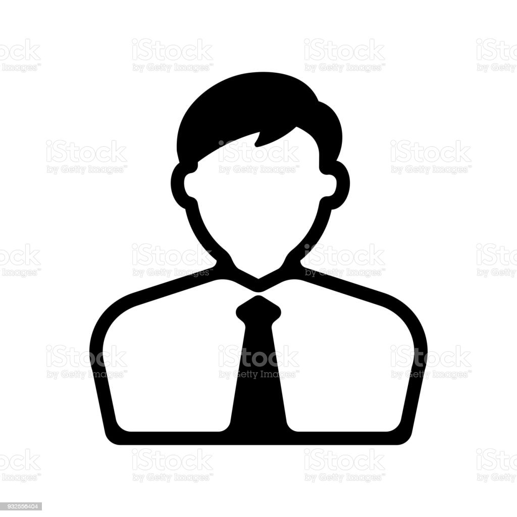 bussiness man / business person icon - Royalty-free Adulto arte vetorial