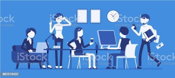 Busy day in a small office vector id882318402?b=1&k=6&m=882318402&s=612x612&h=kem3bwwcm3ejraqoip15j1uoed5xcqnl7xoumsxrkm0=