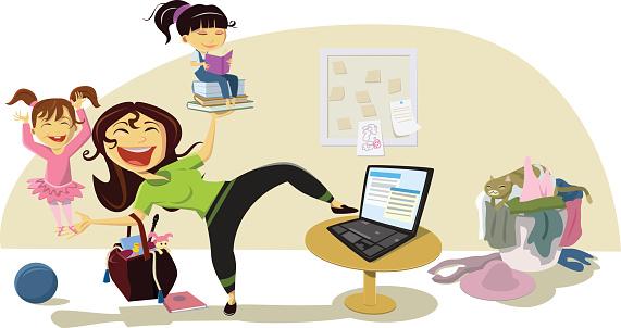 Busy Mom III