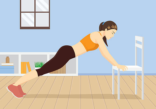 Exercise In Home Vector Art & Graphics | freevector.com