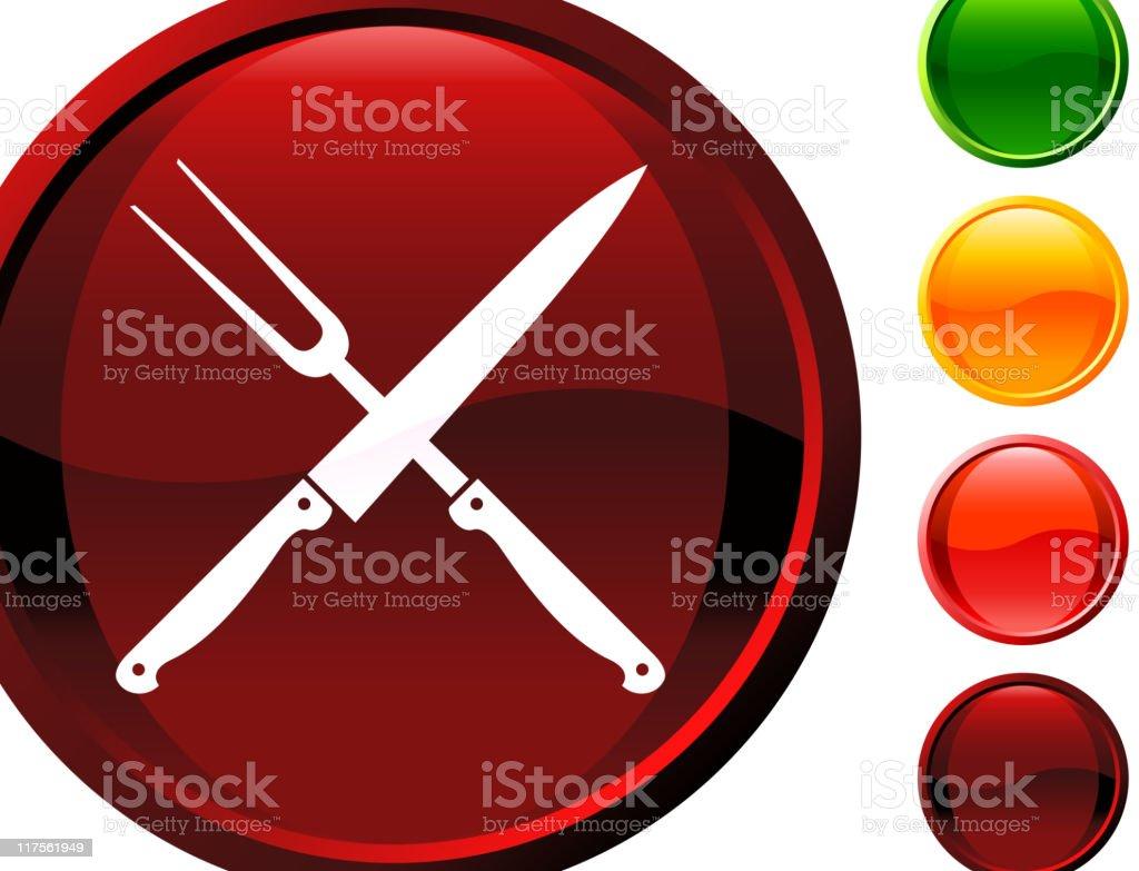 Butcher knife and fork internet royalty free vector art royalty-free butcher knife and fork internet royalty free vector art stock vector art & more images of black color