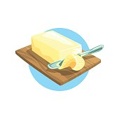 Butter Farm Product Colorful Sticker