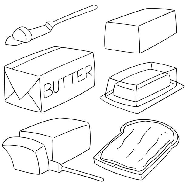 Top 60 Buttering Clip Art, Vector Graphics and ...