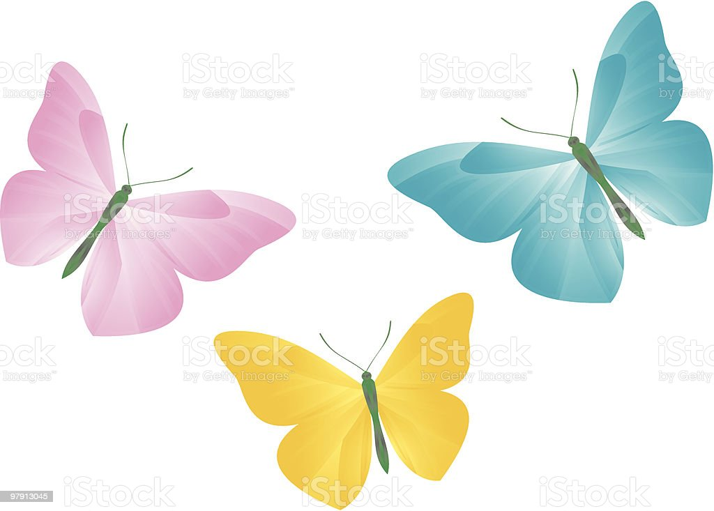 Butterflies Illustration royalty-free butterflies illustration stock vector art & more images of animal wing