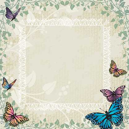 Butterfly Border Clipart Free Download