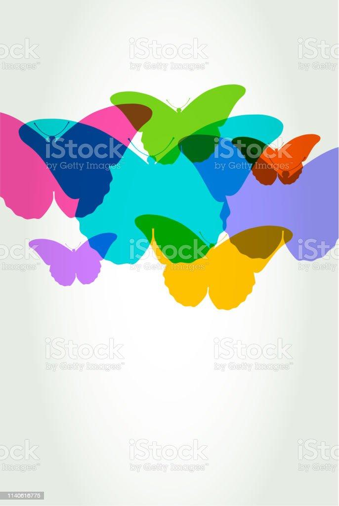 Schmetterlinge – Vektorgrafik