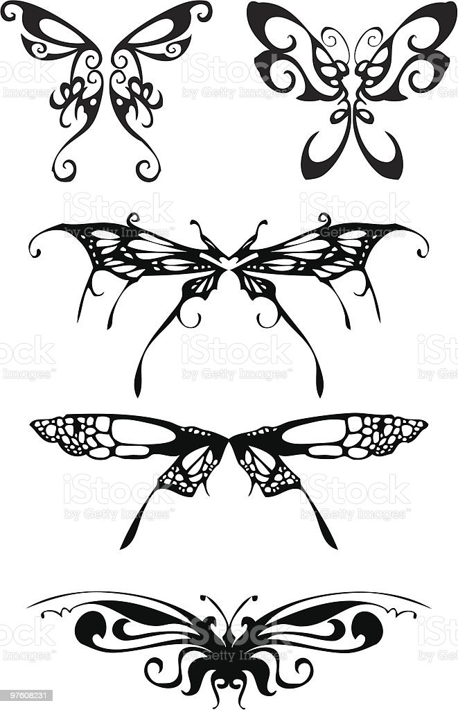 butterflies royalty-free butterflies stock vector art & more images of animal