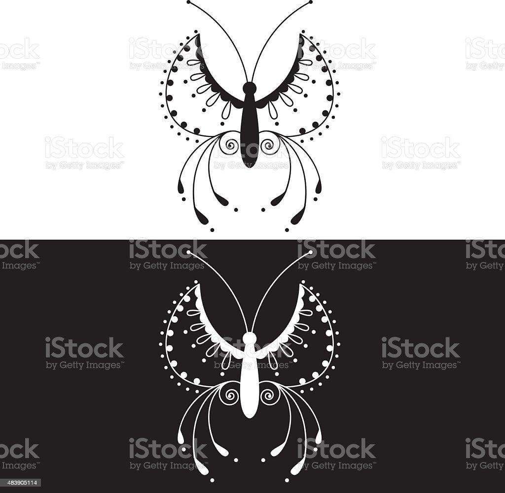 Butterfly 31 vector art illustration