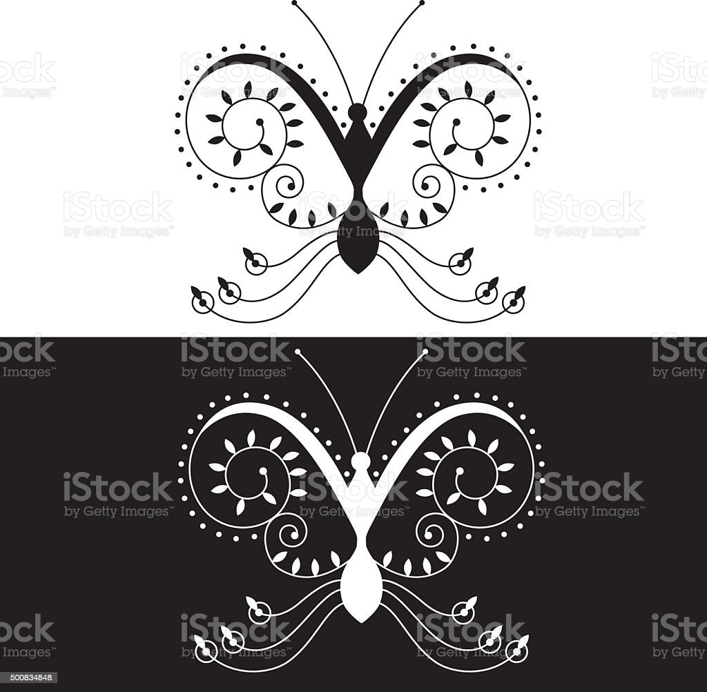 Butterfly 44 royalty-free butterfly 44 stock vector art & more images of 2015
