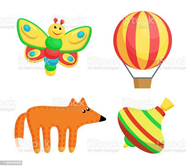 Butterfly and balloon toys set vector illustration vector id1195545405?b=1&k=6&m=1195545405&s=612x612&h=8aiocyuaw7sgz3efq99nibvpje5ej8nybrb6wzmoybw=