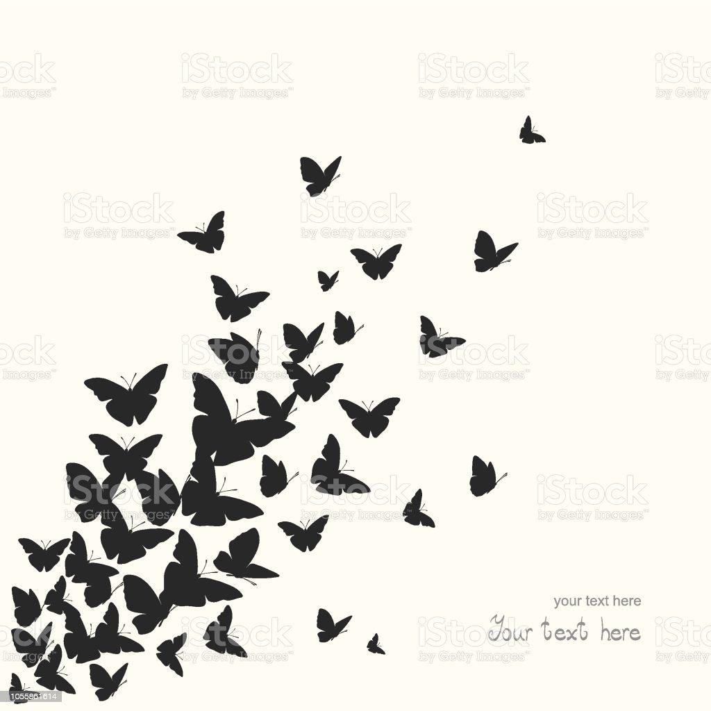 Fond de papillon fond de papillon vecteurs libres de droits et plus d'images vectorielles de abstrait libre de droits