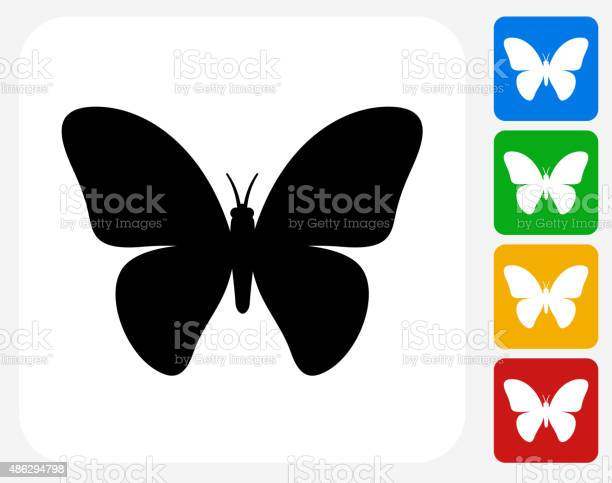 Butterfly icon flat graphic design vector id486294798?b=1&k=6&m=486294798&s=612x612&h=lykzi4 biwdbelloyqufanvwgdtyws51gqfh5evvvbc=