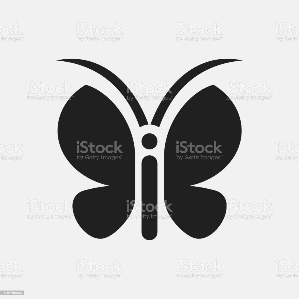 Butterfly icon illustration stock vector art 915768300 istock butterfly icon illustration royalty free stock vector art biocorpaavc Image collections