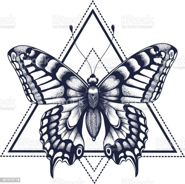 Butterfly in triangle tattoo dotwork tattoo vector id957076718?b=1&k=6&m=957076718&s=612x612&h=cr18psvna4shgyxmjlsskctbmc p a1rucx9b4nsxsi=