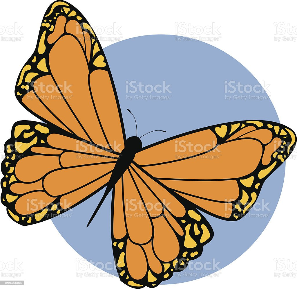 Butterfly - incl. jpeg royalty-free stock vector art