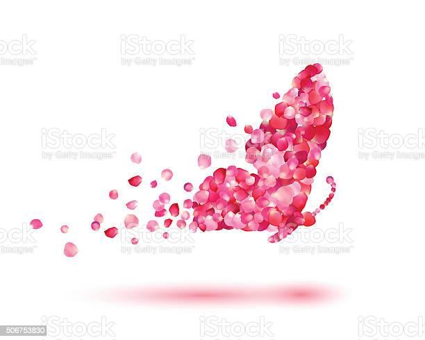 Butterfly of rose petals vector id506753830?b=1&k=6&m=506753830&s=612x612&h=u4zqwpb2t dcjxyl00wgsabid8qemahfbjreg8nljbc=