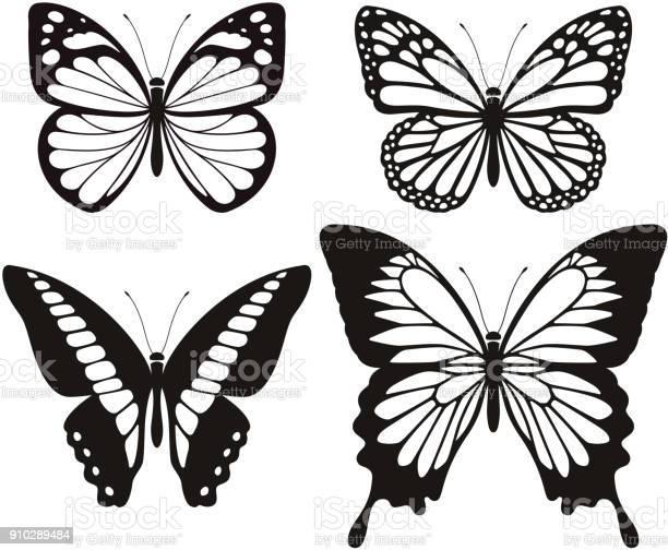 Butterfly silhouette icons set vector id910289484?b=1&k=6&m=910289484&s=612x612&h=ybzbusagfc6xkc zvzqel5thg4lz qzpgumhhsk7tam=