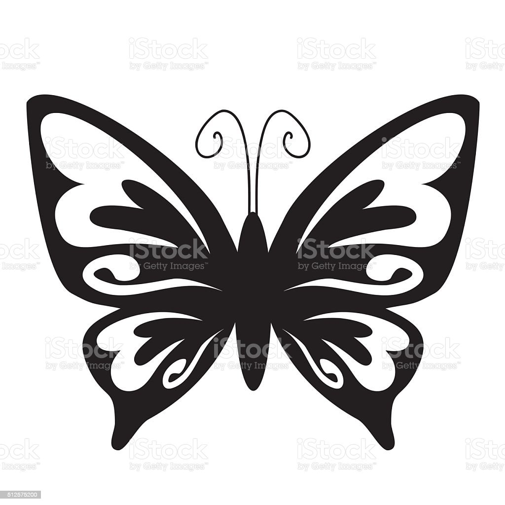 Butterfly Silhouette Vector Illustration Gm512575200 87223963