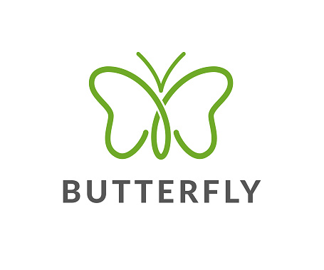 butterfly vector icon clipart
