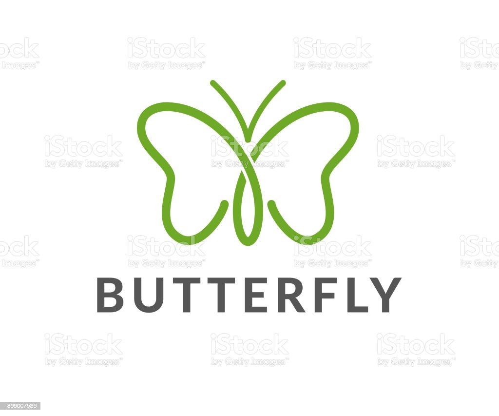 butterfly vector icon vector art illustration