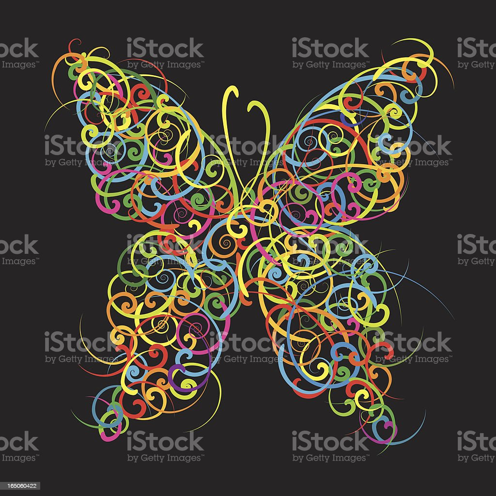 Butterfly royalty-free butterfly stock vector art & more images of animal
